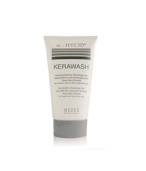 Kerawash – keralyyttinen puhdistusgeeli akneiholle