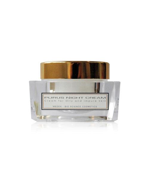 Purus Night Cream – yövoide rasvaiselle iholle